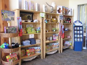 Our Greenwing Centre gift shop